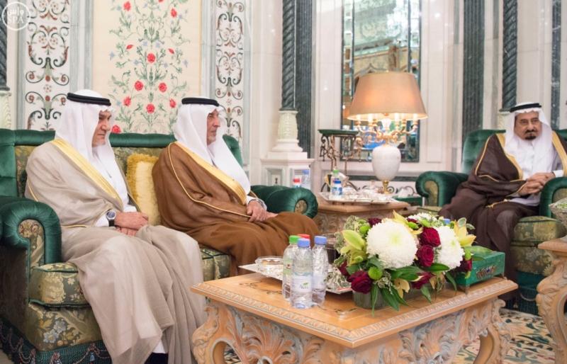 الملك يستقبل الرئيس الأفغاني والجابوني والحريري ووزير الدفاع الجيبوتي ورئيس حركة النهضة التونسية وأمين أوبك13