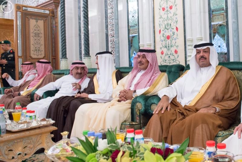 الملك يستقبل الرئيس الأفغاني والجابوني والحريري ووزير الدفاع الجيبوتي ورئيس حركة النهضة التونسية وأمين أوبك15