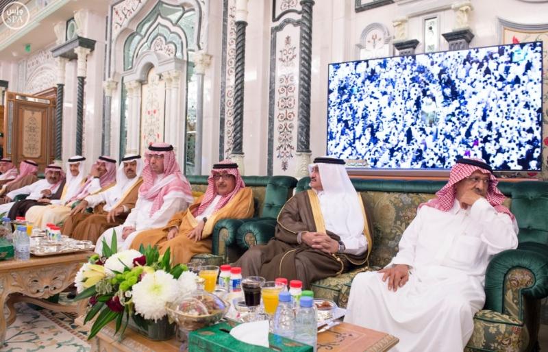 الملك يستقبل الرئيس الأفغاني والجابوني والحريري ووزير الدفاع الجيبوتي ورئيس حركة النهضة التونسية وأمين أوبك16
