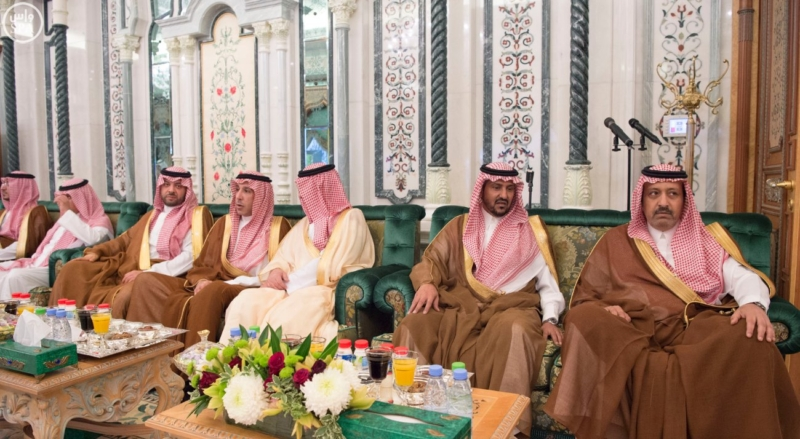 الملك يستقبل الرئيس الأفغاني والجابوني والحريري ووزير الدفاع الجيبوتي ورئيس حركة النهضة التونسية وأمين أوبك17