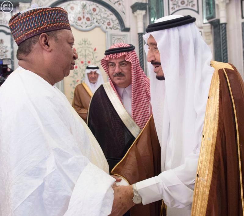 الملك يستقبل الرئيس الأفغاني والجابوني والحريري ووزير الدفاع الجيبوتي ورئيس حركة النهضة التونسية وأمين أوبك3