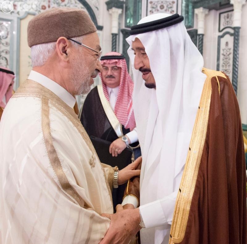 الملك يستقبل الرئيس الأفغاني والجابوني والحريري ووزير الدفاع الجيبوتي ورئيس حركة النهضة التونسية وأمين أوبك4