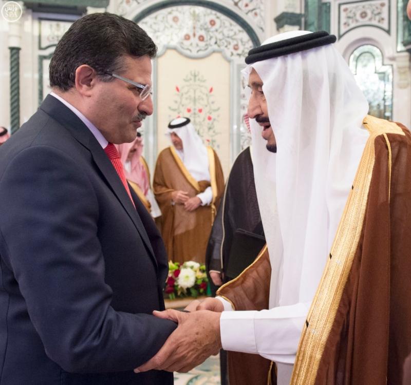 الملك يستقبل الرئيس الأفغاني والجابوني والحريري ووزير الدفاع الجيبوتي ورئيس حركة النهضة التونسية وأمين أوبك5