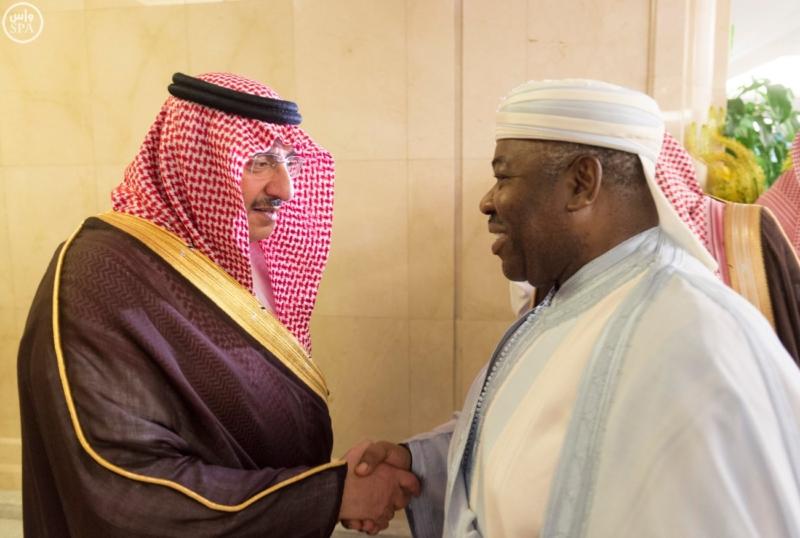 الملك يستقبل الرئيس الأفغاني والجابوني والحريري ووزير الدفاع الجيبوتي ورئيس حركة النهضة التونسية وأمين أوبك6