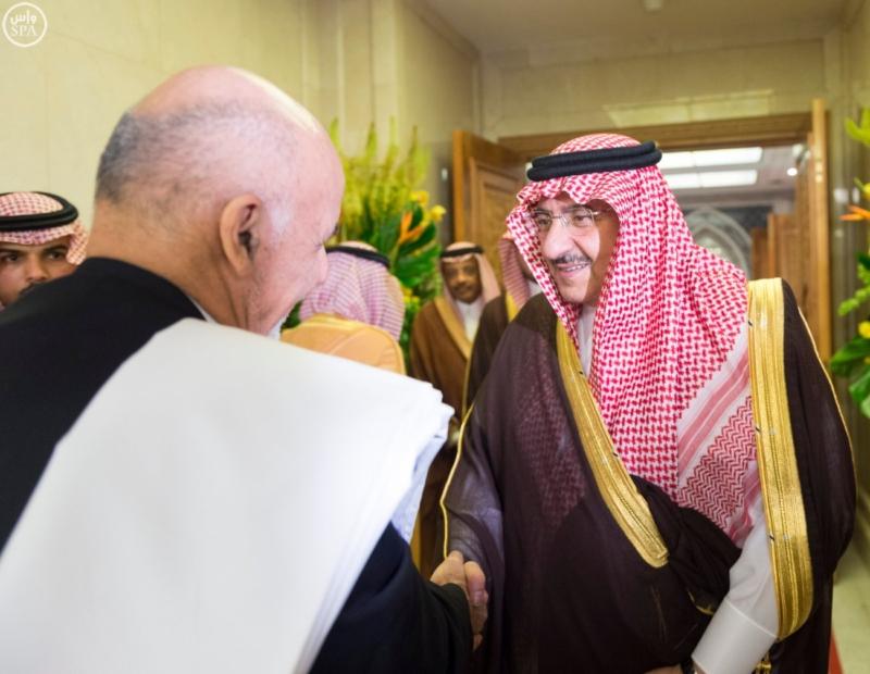 الملك يستقبل الرئيس الأفغاني والجابوني والحريري ووزير الدفاع الجيبوتي ورئيس حركة النهضة التونسية وأمين أوبك7