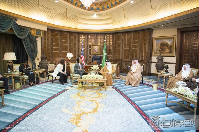 الملك يستقبل الرئيس الامريكي (68623727) 