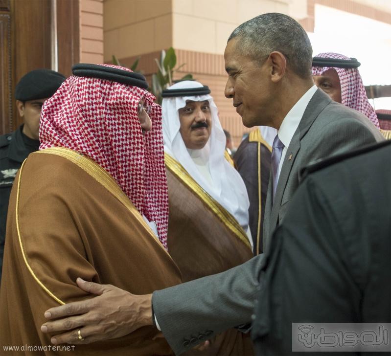 الملك يستقبل الرئيس الامريكي (68623733) 