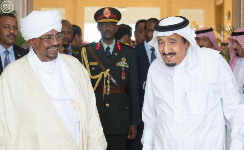 الملك يستقبل الرئيس السوداني 1