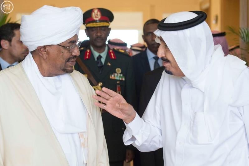 الملك يستقبل الرئيس السوداني 10