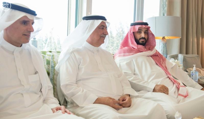 الملك يستقبل الرئيس السوداني 5