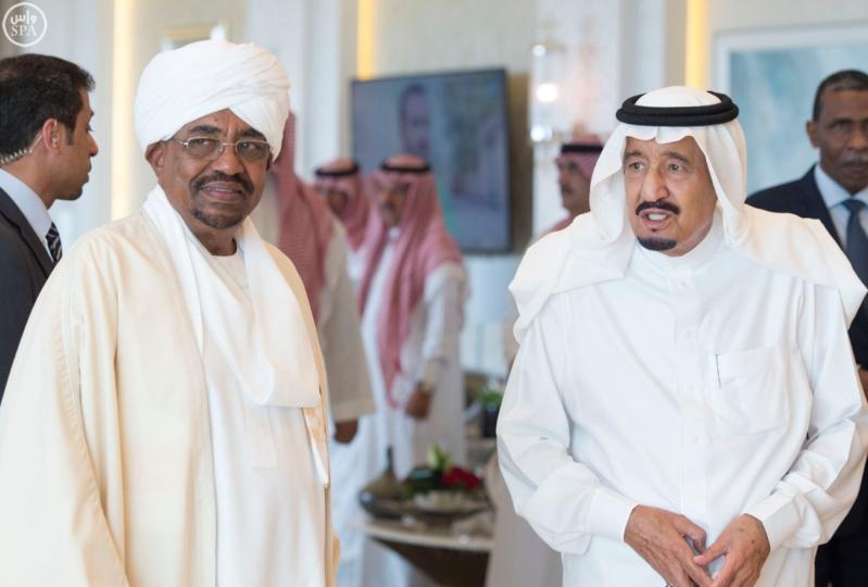 الملك يستقبل الرئيس السوداني 9