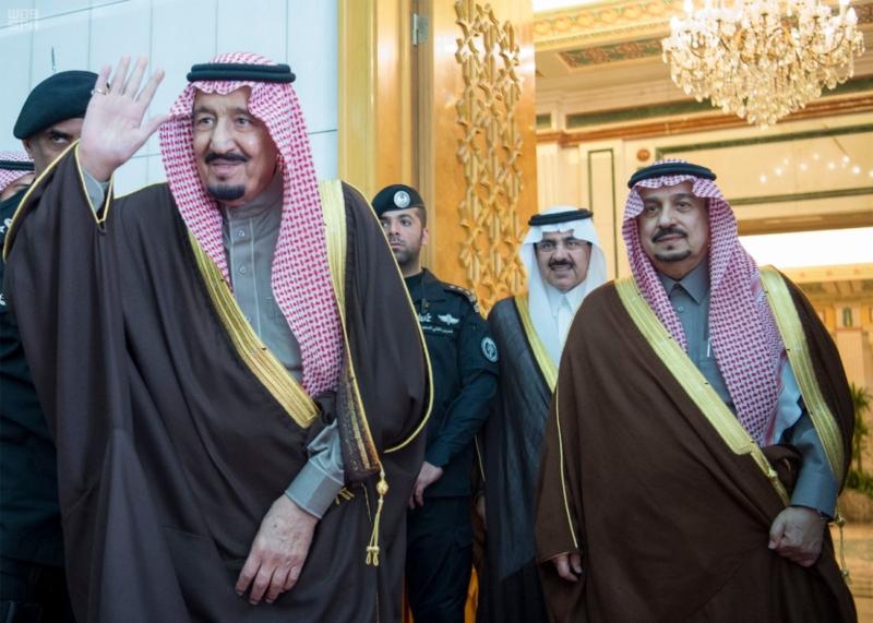 الملك يستقبل الرئيس اللبناني (34669057) 