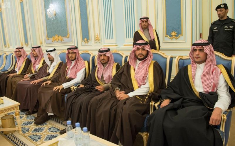 الملك يستقبل الرئيس اللبناني (34669066) 