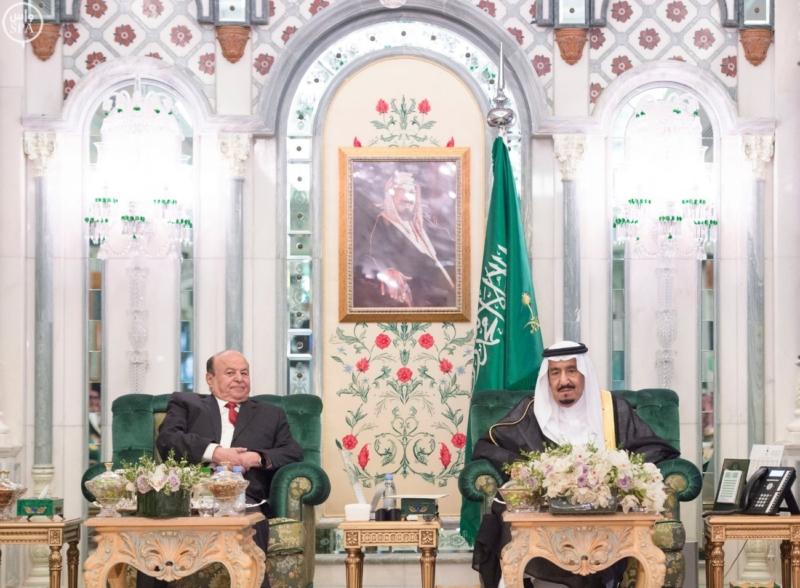الملك يستقبل الرئيس اليمني3