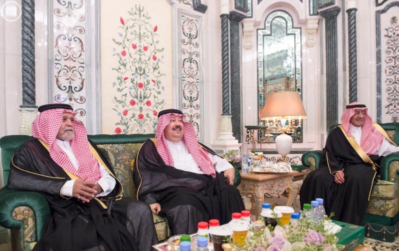 الملك يستقبل الرئيس اليمني4