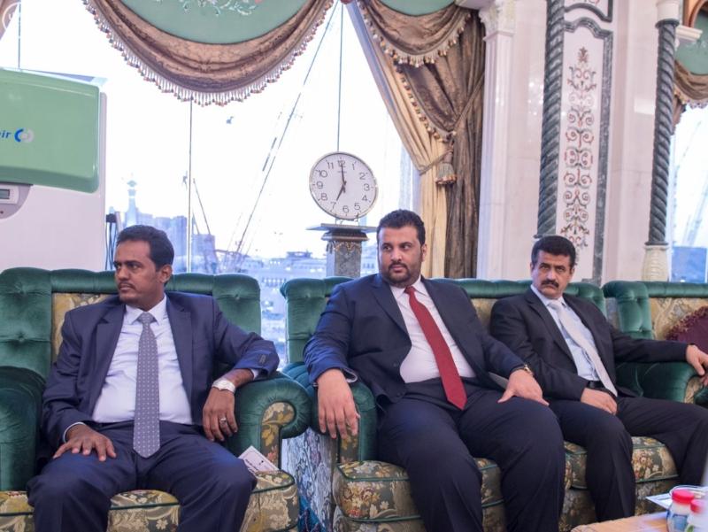 الملك يستقبل الرئيس اليمني7