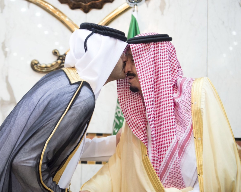 الملك يستقبل المعزين في الامير تركي 3