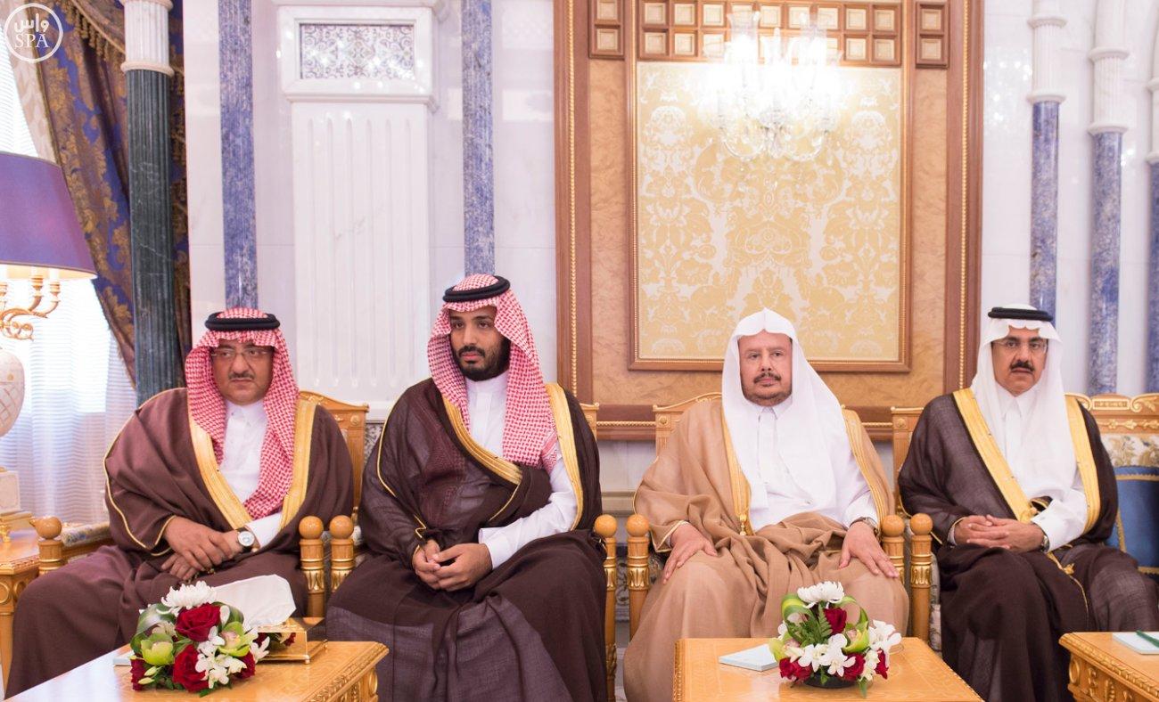الملك يستقبل رئيسَ البرلمان العراقي الدكتور سليم بن عبدالله الجبوري (1)