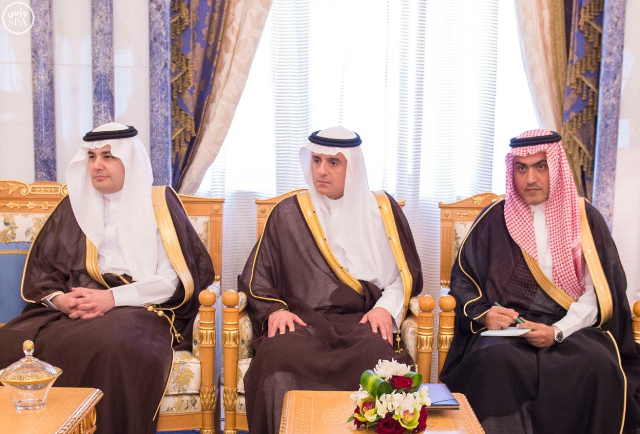 الملك يستقبل رئيسَ البرلمان العراقي الدكتور سليم بن عبدالله الجبوري (2)
