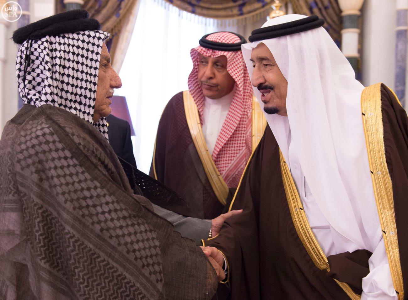 الملك يستقبل رئيسَ البرلمان العراقي الدكتور سليم بن عبدالله الجبوري (3)