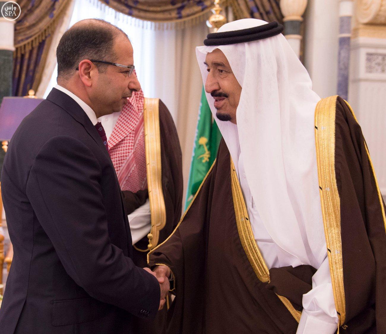 الملك يستقبل رئيسَ البرلمان العراقي الدكتور سليم بن عبدالله الجبوري (4)