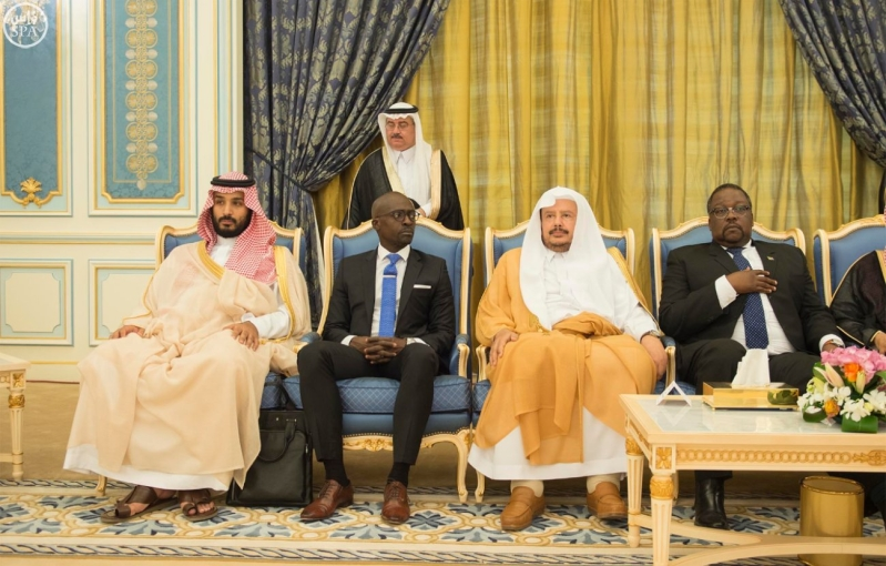 الملك يستقبل رئيس جمهورية جنوب افريقيا11
