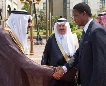 الملك يستقبل رئيس جمهورية زامبيا