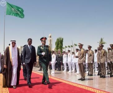 الملك يستقبل رئيس جمهورية زامبيا1