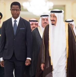 الملك يستقبل رئيس جمهورية زامبيا6