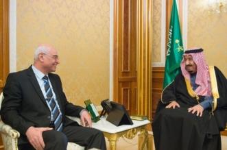 الملك يستقبل رئيس ديوان الرقابة المالية الاتحادي بالعراق - المواطن