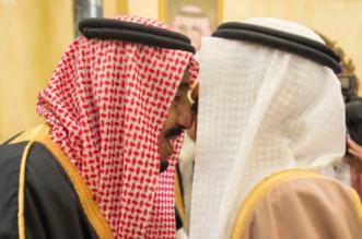 شاهد.. صور استقبال الملك سلمان لرئيس وزراء البحرين - المواطن