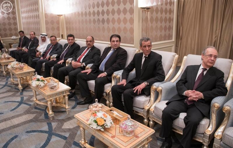 الملك يستقبل سفراء المعتمدين في مصر 2