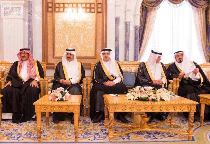 الملك يستقبل مجموعة الشرق الاوسط 2
