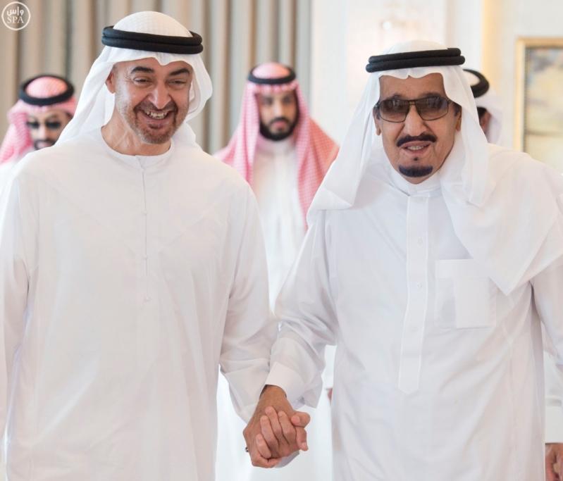 الملك يستقبل محمد بن زايد 10
