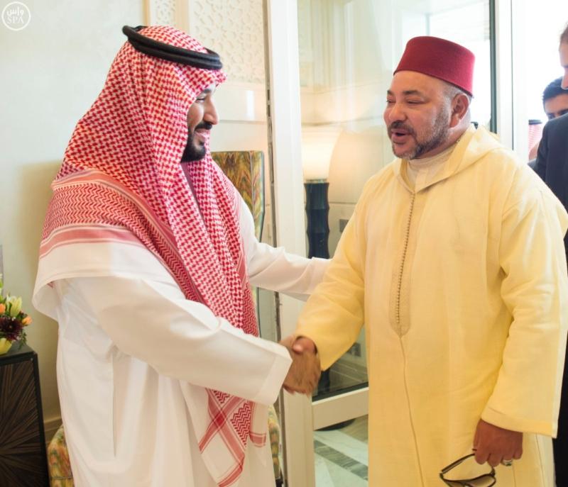 الملك يستقبل ملك المغرب.jpg9