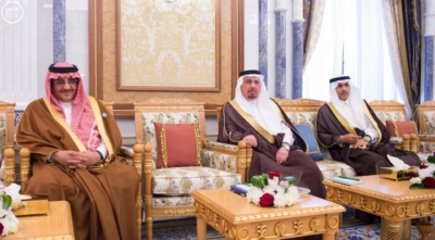 الملك يستقبل وزراء الداخلية الخليج (30638977) 