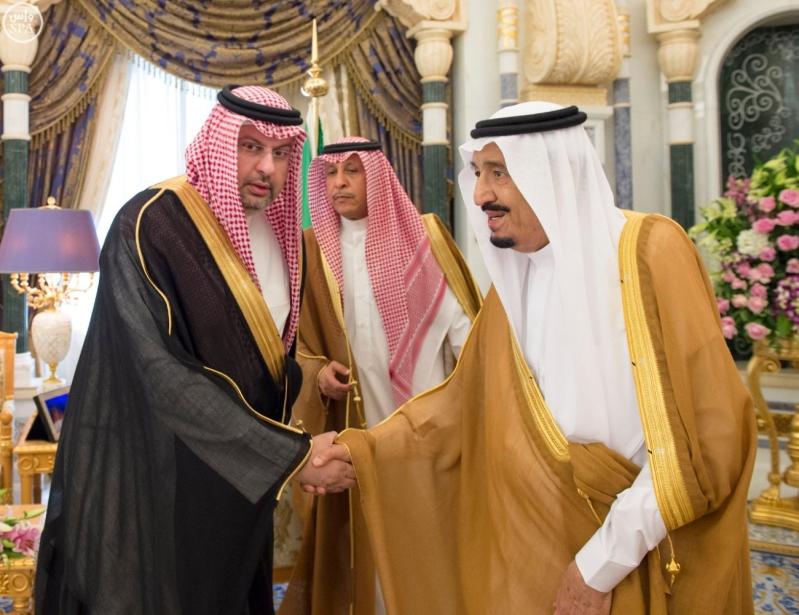 الملك يستقبل وزراء مجلس التعاون5