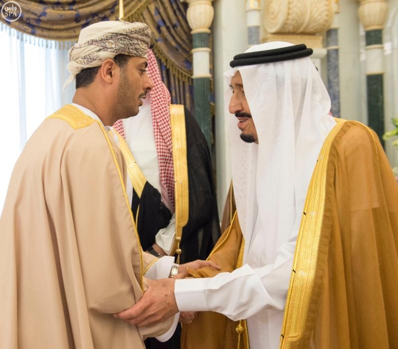 الملك يستقبل وزراء مجلس التعاون6
