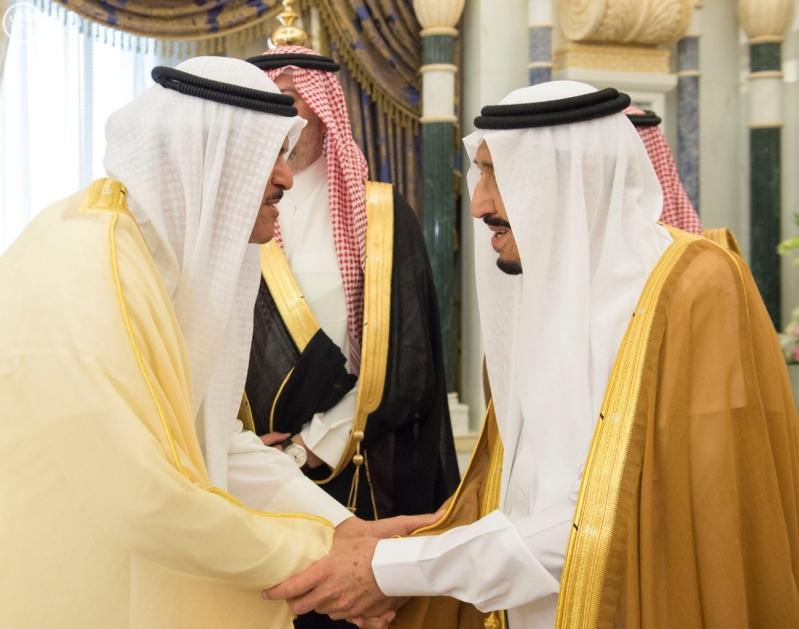 الملك يستقبل وزراء مجلس التعاون7