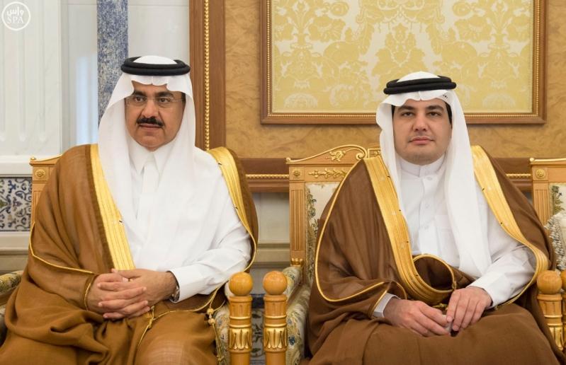 الملك يستقبل وزراء مجلس التعاون8