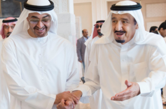 بالصور .. استقبال الملك سلمان لمحمد بن زايد في طنجة المغربية - المواطن