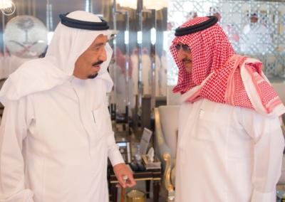 الملك يستقل ولي عهد أبو ظبي6