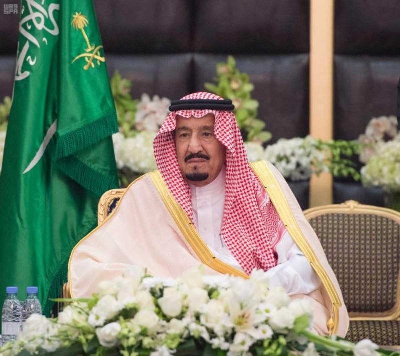الملك يشرف حفل الاستقبال بامارة الشرقية (97394079)  