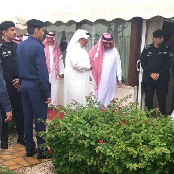 الملك يشرف مادبة غداء محمد بن فهد (3)