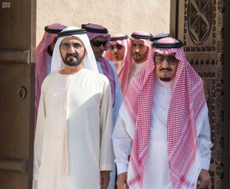 الملك يصل إلى إمارة دبي