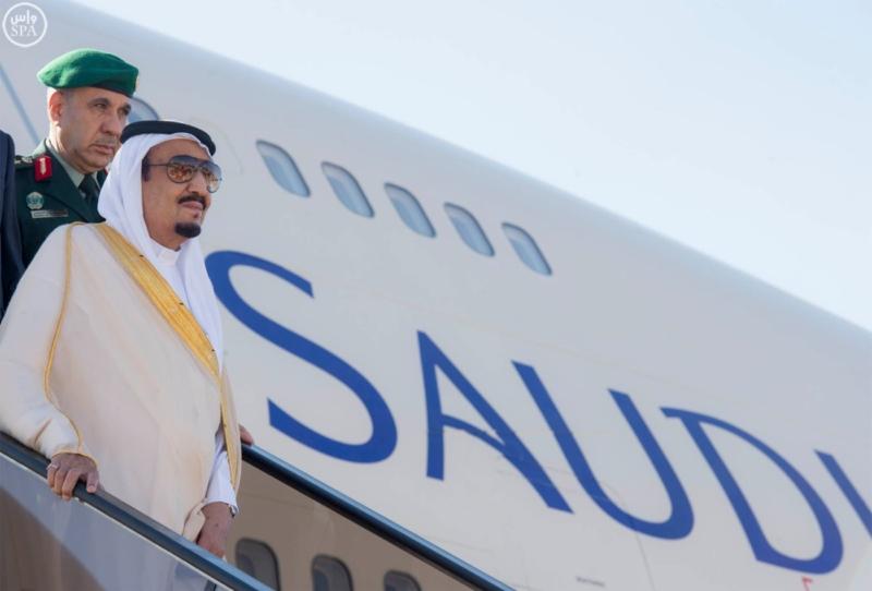 الملك يصل إلى المغرب (1) 