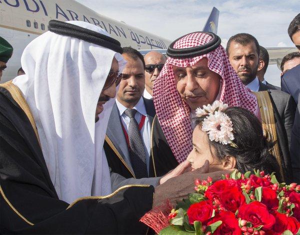 الملك يصل الى تركيا2