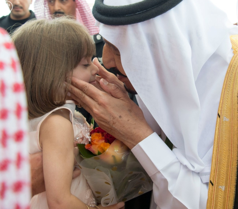 الملك يصل الى جدة قادم من الرياض3
