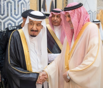 الملك يصل الى جدة قادم من الرياض4