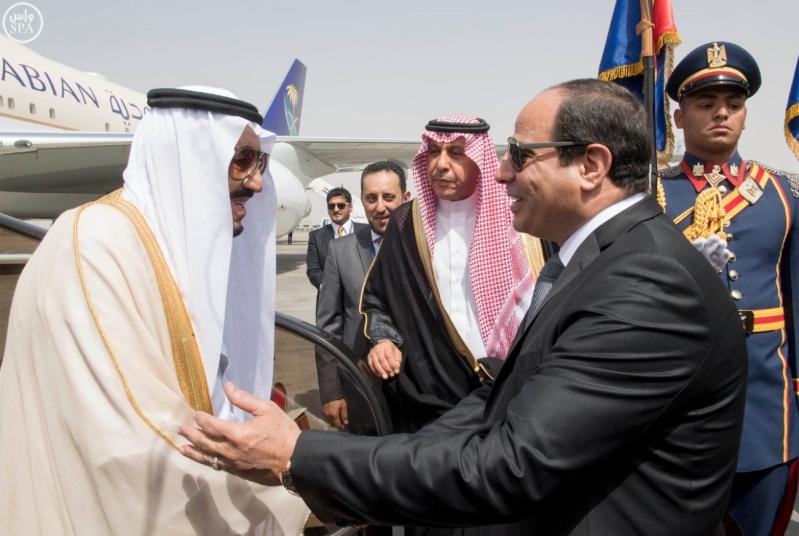 الملك يصل الى مصر2